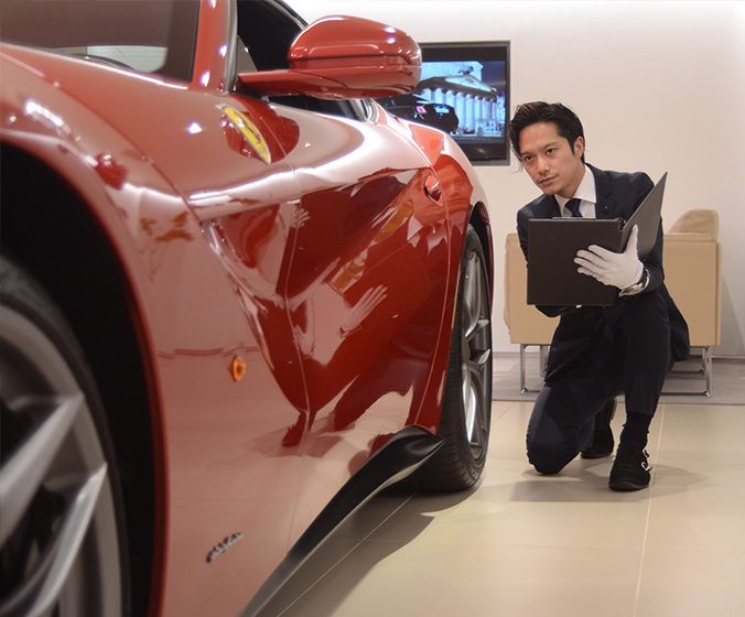 Super car & Luxury carが得意!!